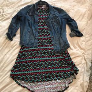 Lularoe Carly Hi-lo Dress